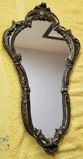 antique bronze regency style rococo mirror