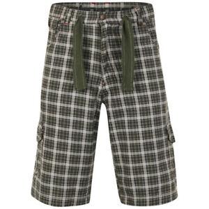 Drunknmunky Men's Platoon Shorts - Heavy Stone/SB Check. Size 30. BARGAIN.
