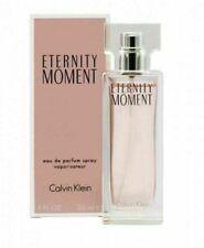 RRP:£35 BNIB Calvin Klein Eternity Moment Eau de Parfum Spray 30ml CELLO SEALED.
