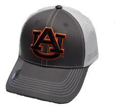 Auburn Tigers Adjustable Gray Mesh Cap Snapback Hat NCAA
