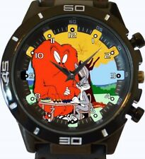 Hairy Monster Vs Bugs Bunny New Gt Series Sports Unisex Gift Wrist Watch