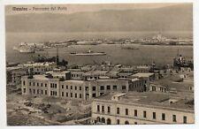 ★ MESSINA PANORAMA DEL PORTO CARTOLINA NAVI NON VIAGGIATA 1920/30