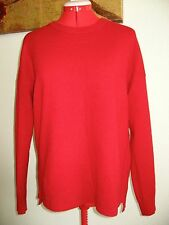 New cashmere crew neck sweater M