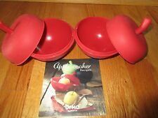 Orka Mastrad Two Silicone Oven Apple Cookers with Recipe Book