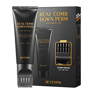 SEVENPM Real Comb Down Perm Mens Self Styling Side Hair 100ml / 3.38 oz
