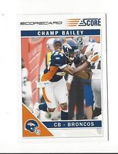 2011 Score Scorecard #85 Champ Bailey Broncos