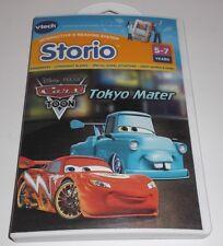 STORIO DISNEY PIXAR CARS TOON TOKYO MATER VTECH INTERACTIVE E-READING SYSTEM