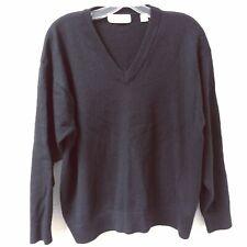 Harry Vardon Mens V Neck Golf Sweater Size 2XL Black Long Sleeve Pullover