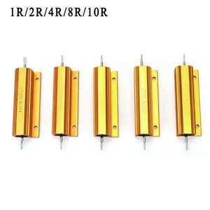 GG Power Resistor Aluminum alloy Housed Wirewound Component Industrial