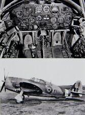 RAF WW2 Republic P-47 Thunderbolt Fighter Two 4x6 Photo Set WWII