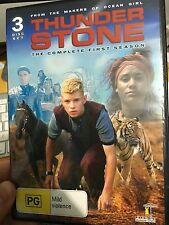 Thunderstone Season 1 DVD (3 discs) RARE Australian sci-fi children's series
