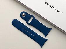 Genuine Apple Watch Sport Band Strap 38mm /40mm Blue Horizon
