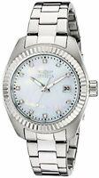 Invicta Womens Specialty Analog Display Quartz Silver Watch