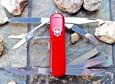 Victorinox Midnite Minichamp Red Original Swiss Army Knife Led 53976 Authentic!