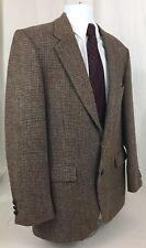 STAFFORD Mens 42R Harris Tweed Blazer Sport Coat Vintage