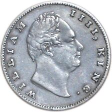 XF India British 1 Rupee William IV 19 Berries 11,66gr KM#450.1 1835 Silver Coin
