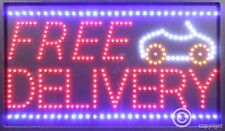 QUALITY FLASHING FREE DELIVERY catering LED sign board shop sign