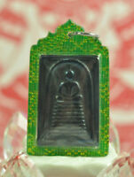Phra somdej wat ketchaiyo 9 Tier Blue Leklai LP Huan Thai Buddha Amulet Talisman