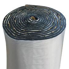 Car Cell Foam Sound Acoustic Barrier Deadener Mat 5 sqft Embossed Aluminum Cover