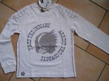 (C462) Spirit of Hope Boys Biker Langarm Shirt mit Indianer Druck gr.128-134