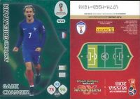 WC RUSSIA 2018 -Panini Adrenalyn- Card Game Changer N. 454 - GRIEZMANN- FRANCIA