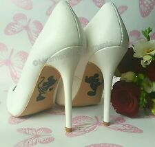 Disney Wedding Shoe Decal / Mickey & Minnie Mouse / Happily Ever After