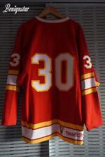 New listing Mitchell & Ness Dan Bouchard 1974-1975 Atlanta Flames Ice Hockey Jersey Size 48