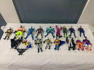 DC Comics Assorted Action Figure Lot- Batman Joker