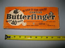 Vintage Butterfinger candy box with Halloween motif