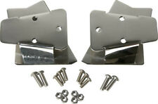 Mirror Relocation Bracket Pair Polished Stainless Jeep Wrangler TJ 03-2006 30542