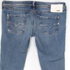 ab747406 Womens Diesel LOWKY 008LA Stretch Slim Straight Blue Jeans W32 L30 UK Size  12