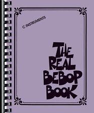 The Real Bebop Book Sheet Music C Edition Real Book Fake Book NEW 000154230