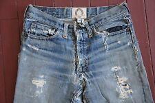 Broken-In Vintage 1970's Hippy Vintage Levis Strauss SINGLE STITCH Denim Jeans
