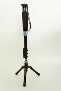 Sirui EP-204S Photo Video Monopod Load 8kg 17lb with Mini Tripod