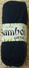 DK Knitting Wool 100g Bamboo Cotton DK Yarn King Cole