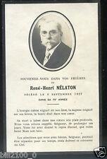 photo faire-part . René-Henri Nélaton