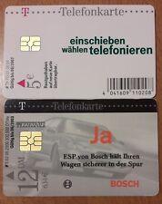 2 TELEFONKARTEN, ESP von Bosch und grüne Karte, gebraucht
