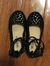 Black Sey Esteem Baby Girl Shoes Size 6