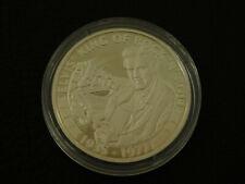 2007 Cook Islands Elvis Presley $5 coin in capsule