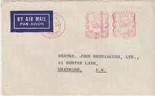 Australia 1958 pre-paid cancels envelope