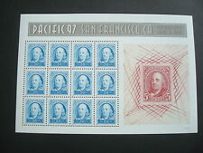 """#3139-3140 """"PACIFIC 97"""" 50c & 60c MINI SHEETS OF 12 MINT-OG/NH FREE SHIPPING"""