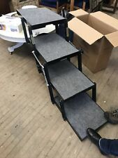 "Pet Loader Dog Steps Ramp Suv / Truck Travel Large 16""Wide 5 step 150 Capacity"