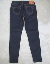 True Religion Women's Jeans Halle Mid Rise Skinny Ankle Sz 28 Very Stretchy