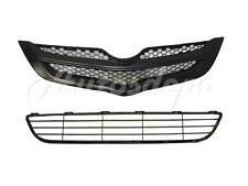 FOR 2007-2008 TOYOTA YARIS SEDAN GRILLE FRONT BUMPER LOWER GRILLE CENTER 2PCS