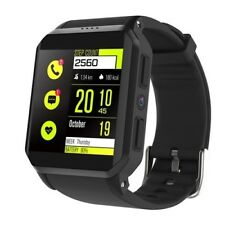 Smartwatch KW06 impermeabile IP68 3G sim card Android 5.1 cardio notifiche GPS