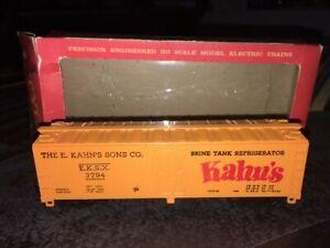 40' Rail Box Car Ho Train Kahn's 3794 Brine Tank Refrigerator E.K.S.X. 3794