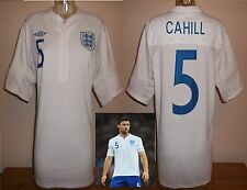 England Calcio Casa Maglietta 2012 G. Cahill M Chelsea Bolton Aston Villa