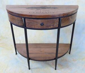 Konsolentisch Flurboard Beistelltisch Wandkonsole Landhaus Ablage Tisch E16019-b