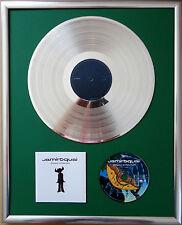 """JAMIROQUAI Emergency encadrée CD COVER +12"""" vinyle d'or/platine disque"""