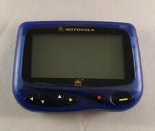 Motorola CP1250 Alphanumeric Pager Blue Housing Sports Edition